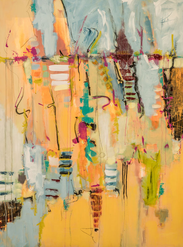 Mardi Gras - Susan Proehl Abstract Painter