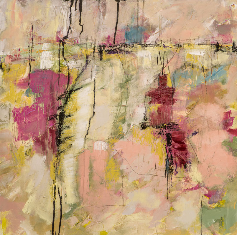 Spring Rain - Susan Proehl Abstract Painter