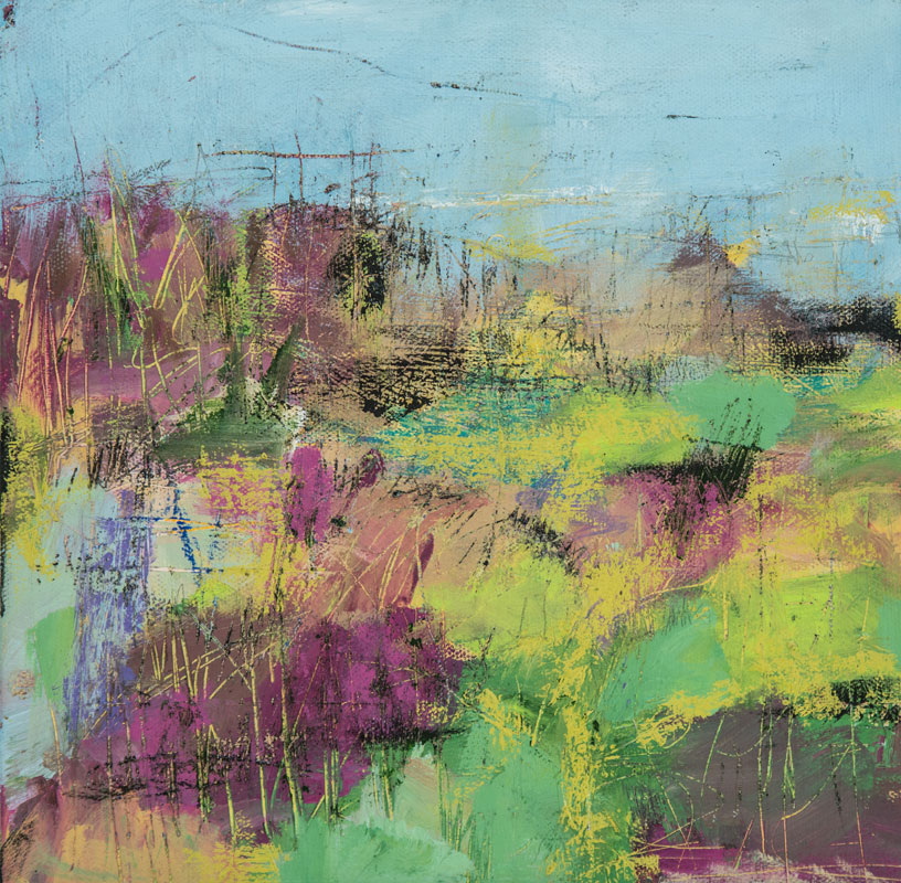 Wetlands - Susan Proehl Abstract Painter