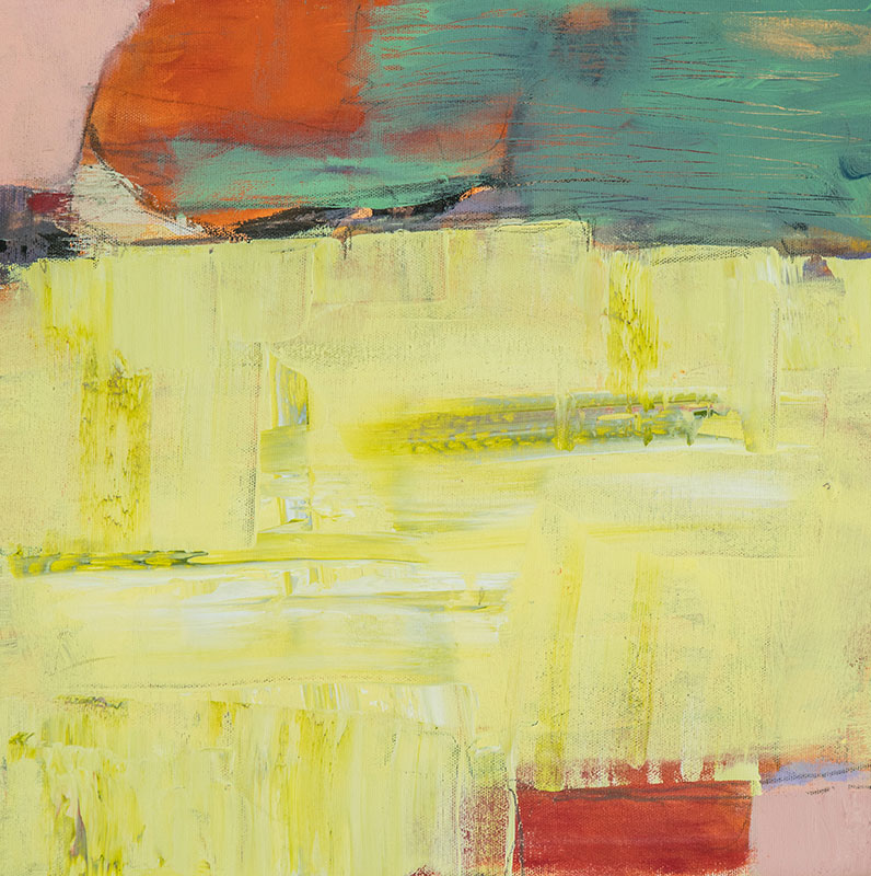 Sunset - Susan Proehl, Abstract Painter