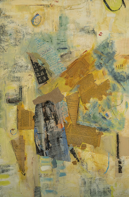 Notes - Susan Proehl, Collage Artist