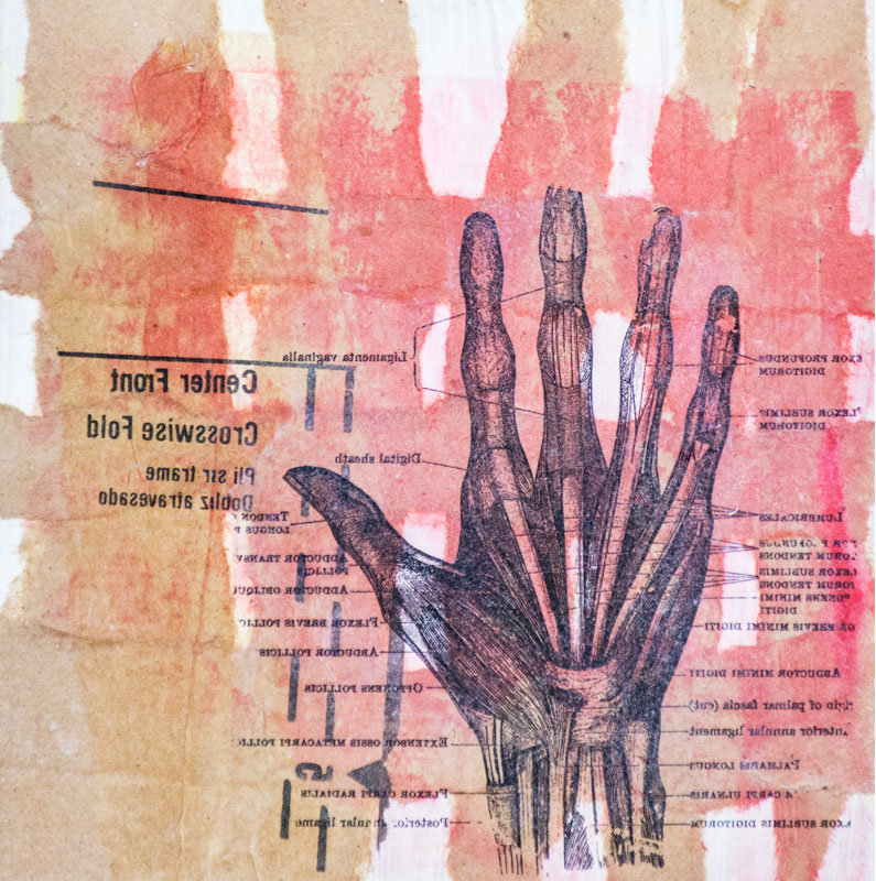 Who's Hand? - Notes - Susan Proehl, Collage Artist