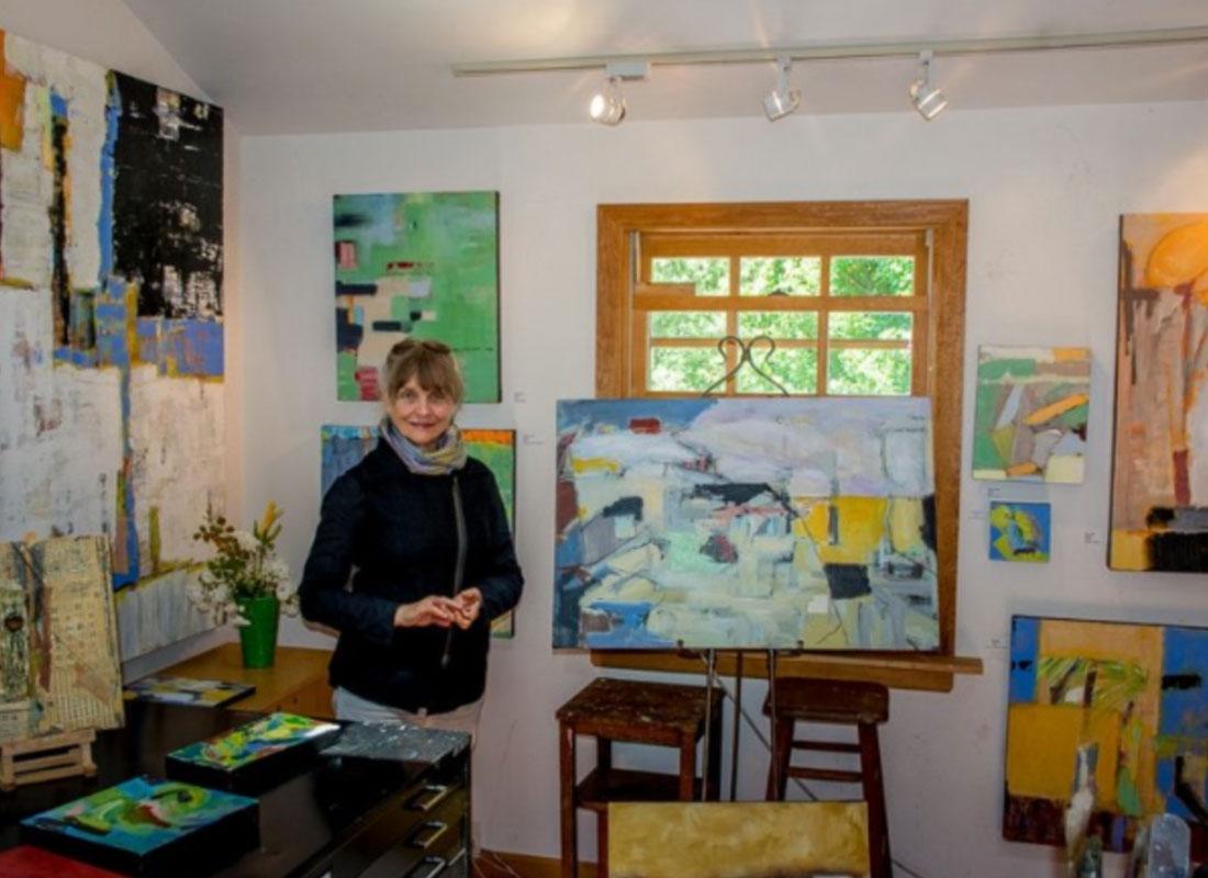 Susan Proehl in her studio