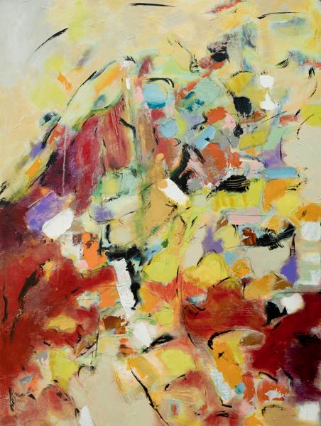 Brasil-40x30 - painting by Susan Proehl