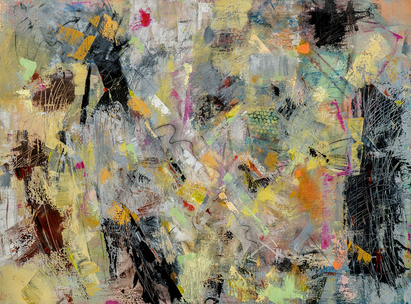 Shakeout - Painting by Susan Proehl