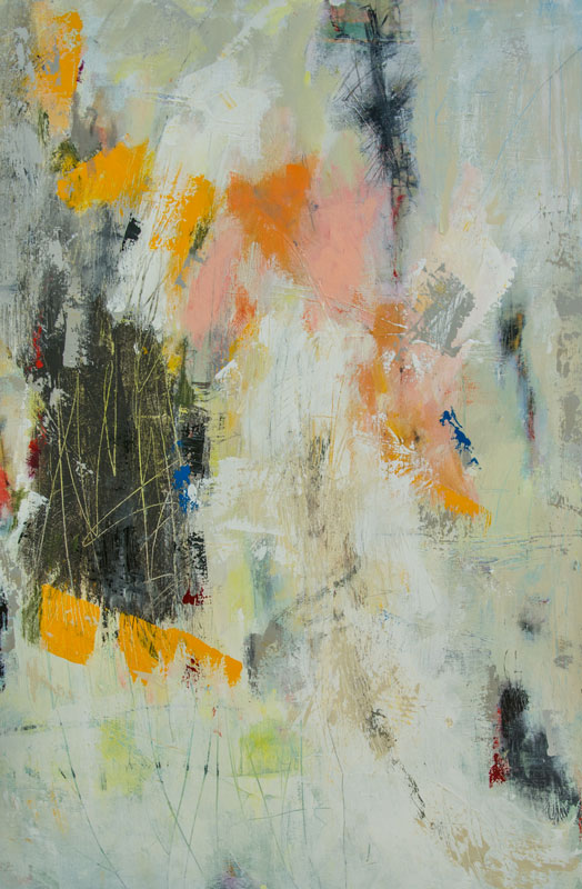 Untitled - Painting by Susan Proehl