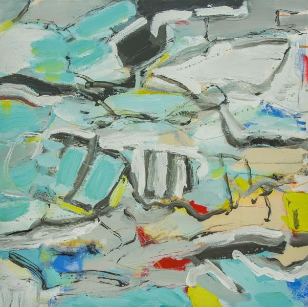 Avila Beach - Painting by Susan Proehl