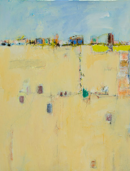 Beach Scape 4 - Painting by Susan Proehl