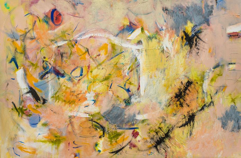 Flight - Painting by Susan Proehl