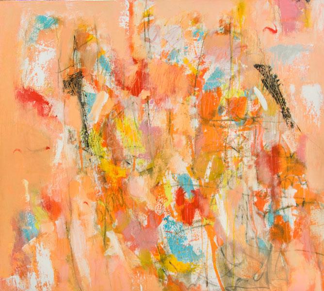Sugar High - Painting by Susan Proehl